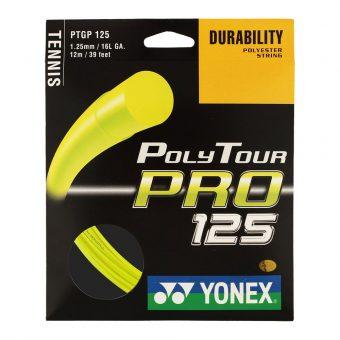 Corda Yonex Poly Tour Pro Amarela 1.25