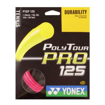 Corda Yonex Poly Tour Pro Rosa 1.25