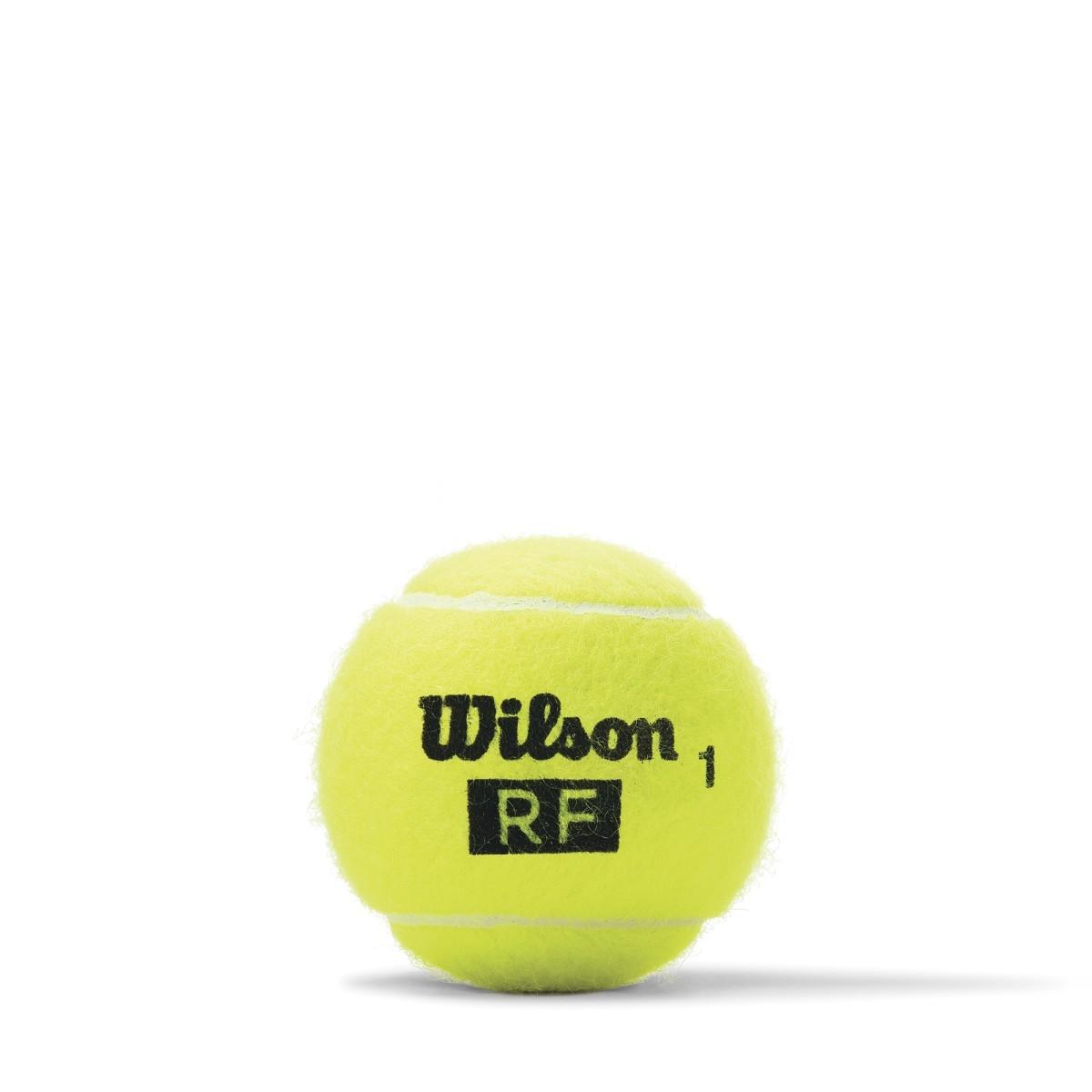 913fa34e9 Bola de Tênis Wilson RF Legacy Tubo com 4 bolas - Empório do Tenista